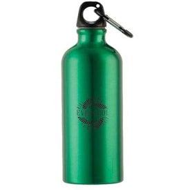 Metalica Aluminum Bottle w/Carabiner (20 Oz.)