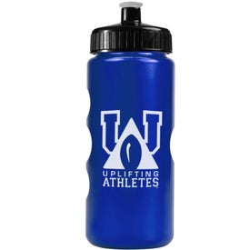 Metalike Bottle with Push-Pull Lid for Your Company