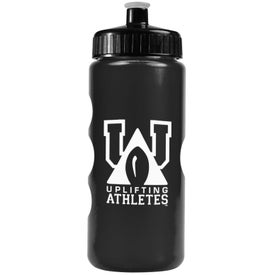 Promotional Metalike Bottle with Push-Pull Lid