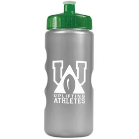 Branded Metalike Bottle with Push-Pull Lid