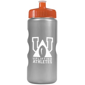 Metalike Bottle with Push-Pull Lid Giveaways