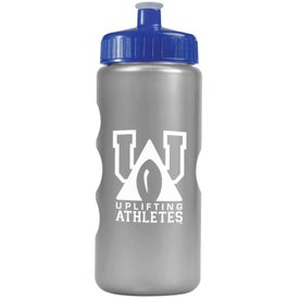 Customized Metalike Bottle with Push-Pull Lid