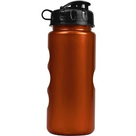 Metalike Bottle with Flip Lid for Customization