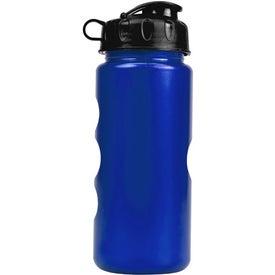 Customized Metalike Bottle with Flip Lid