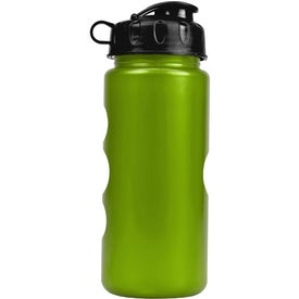 Metalike Bottle with Flip Lid Branded with Your Logo