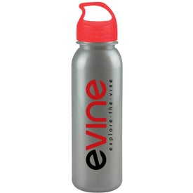 Personalized Metalike Bottle with Crest Lid