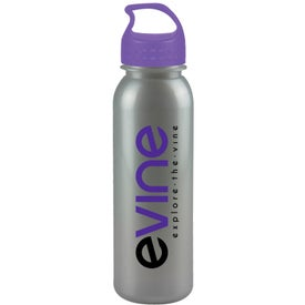 Customized Metalike Bottle with Crest Lid