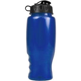 Custom Metalike Bottle with Flip Cap