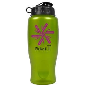 Company Metalike Bottle with Flip Cap