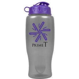 Printed Metalike Bottle with Flip Cap