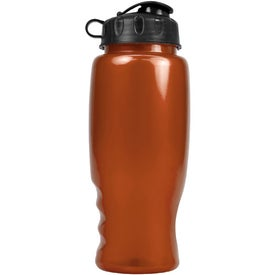 Custom Metalike Bottle with Flip Cap