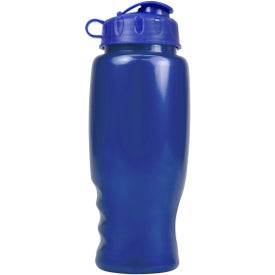 Personalized Metalike Bottle with Flip Cap