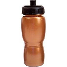 Logo Metallic Poly-Saver Mate Bottle