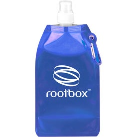 Branded Metro Collapsible Water Bottle