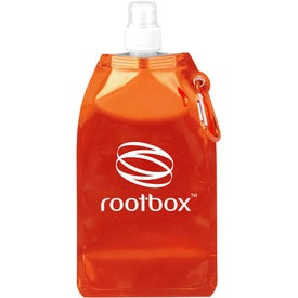 Metro Collapsible Water Bottle Printed with Your Logo