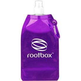 Metro Collapsible Water Bottle for Advertising