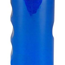 Branded Mini Mountain Bottle with Flip Straw Lid