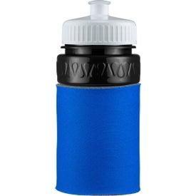 Custom Mini Muscle Foam Insulated Push-Pull Bottle