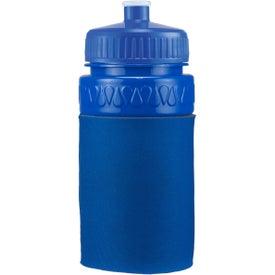 Monogrammed Mini Muscle Foam Insulated Push-Pull Bottle