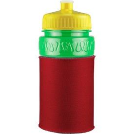 Customized Mini Muscle Foam Insulated Push-Pull Bottle