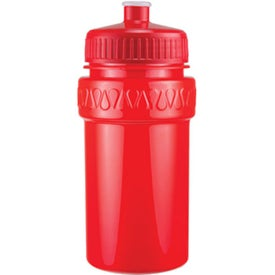 Imprinted Mini Muscle Bottle with Push Pull Lid