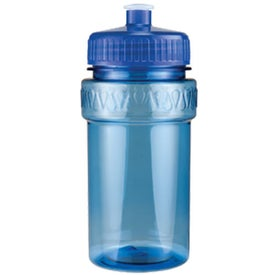 Mini Muscle Bottle with Push Pull Lid with Your Slogan