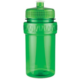 Mini Muscle Bottle with Push Pull Lid Printed with Your Logo