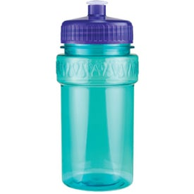 Mini Muscle Bottle with Push Pull Lid for Customization