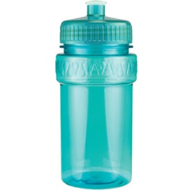 Mini Muscle Bottle with Push Pull Lid for Promotion