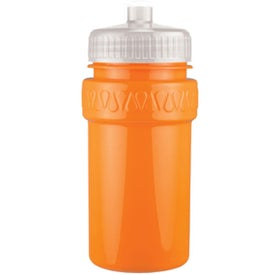 Personalized Mini Muscle Bottle with Push Pull Lid