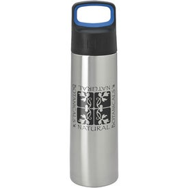 Monogrammed Modern Bottle with Large Handle