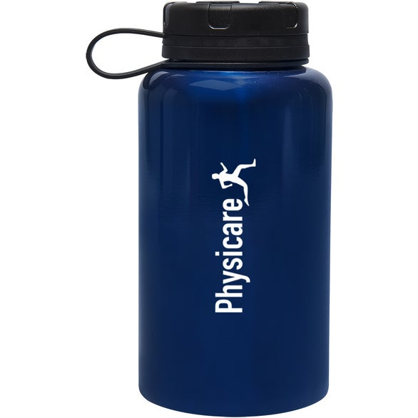 Blue Montgomery Stainless Steel Bottle