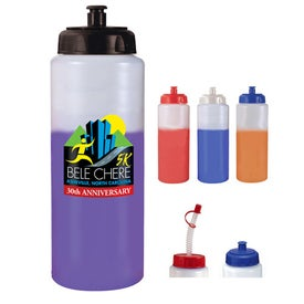 Mood Sports Bottle w/ Push/Pull Cap
