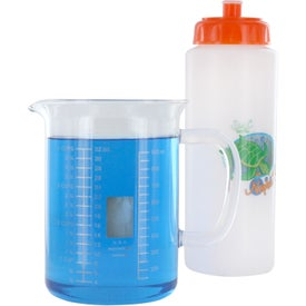 Mood Sports Bottle w/ Push/Pull Cap for Advertising