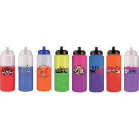 Company Mood Sports Bottle w/ Push/Pull Cap
