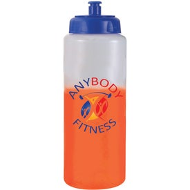 Mood Sports Bottle w/ Push/Pull Cap Giveaways