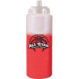 Mood Sports Bottle w/ Push/Pull Cap Branded with Your Logo