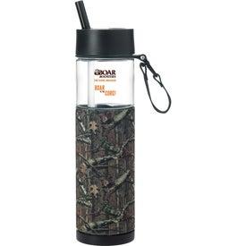 Mossy Oak Sport Bottle with Sleeve (24 Oz.)