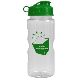 Promotional Mini Mountain Bottle with Flip Lid