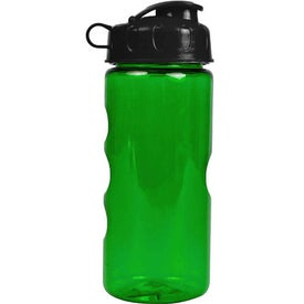 Imprinted Mini Mountain Bottle with Flip Lid