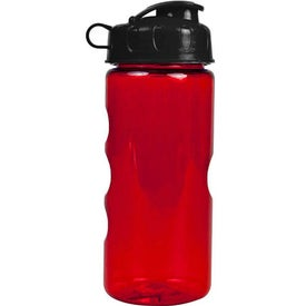 Personalized Mini Mountain Bottle with Flip Lid
