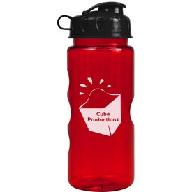 Mini Mountain Bottle with Flip Lid (22 Oz.)
