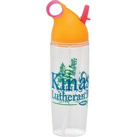 Printed Neon BPA Free Sport Bottle
