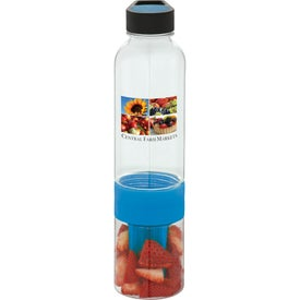 Neon Fruit Infuser BPA Free Water Bottle for Your Organization