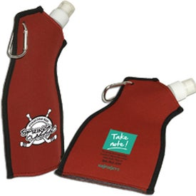 Neoprene Flexi-Bottle Imprinted with Your Logo