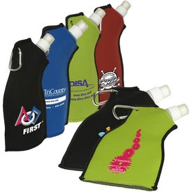 Neoprene Flexi-Bottle Printed with Your Logo