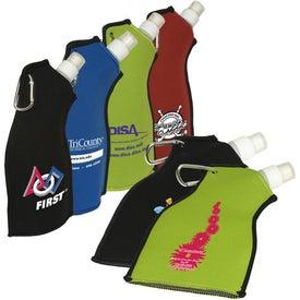Neoprene Flexi-Bottle Printed with Your Logo