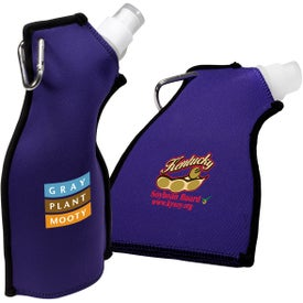 Logo Neoprene Flexi-Bottle