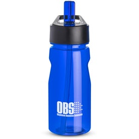 Notched Tritan Water Bottle with Loop for Promotion