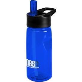 Advertising Notched Tritan Water Bottle with Loop